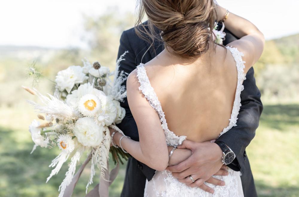 Novios ramo Bride and groom