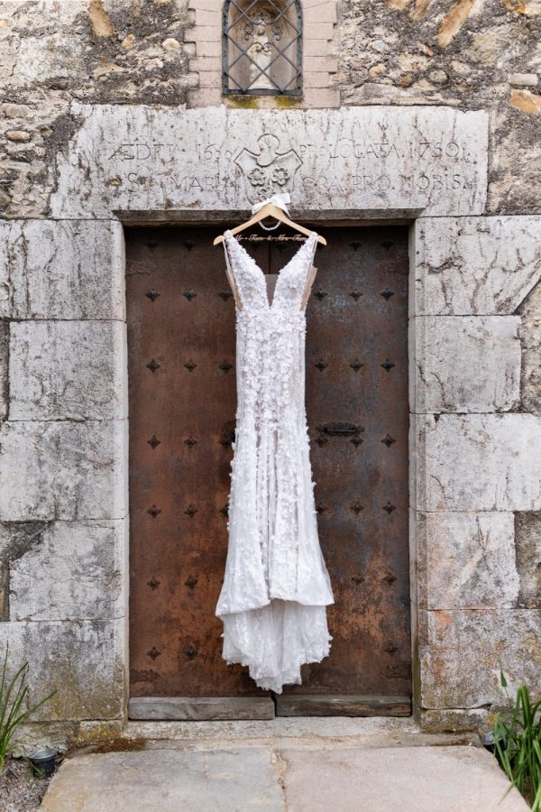Bridal dress Vestido de novia glamour