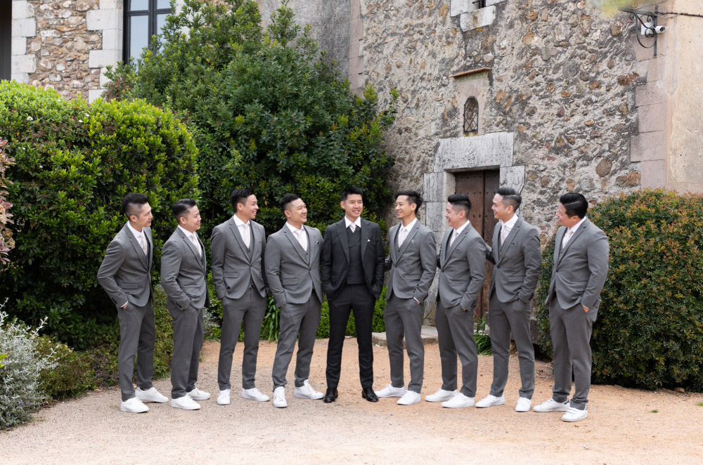 Groom's men