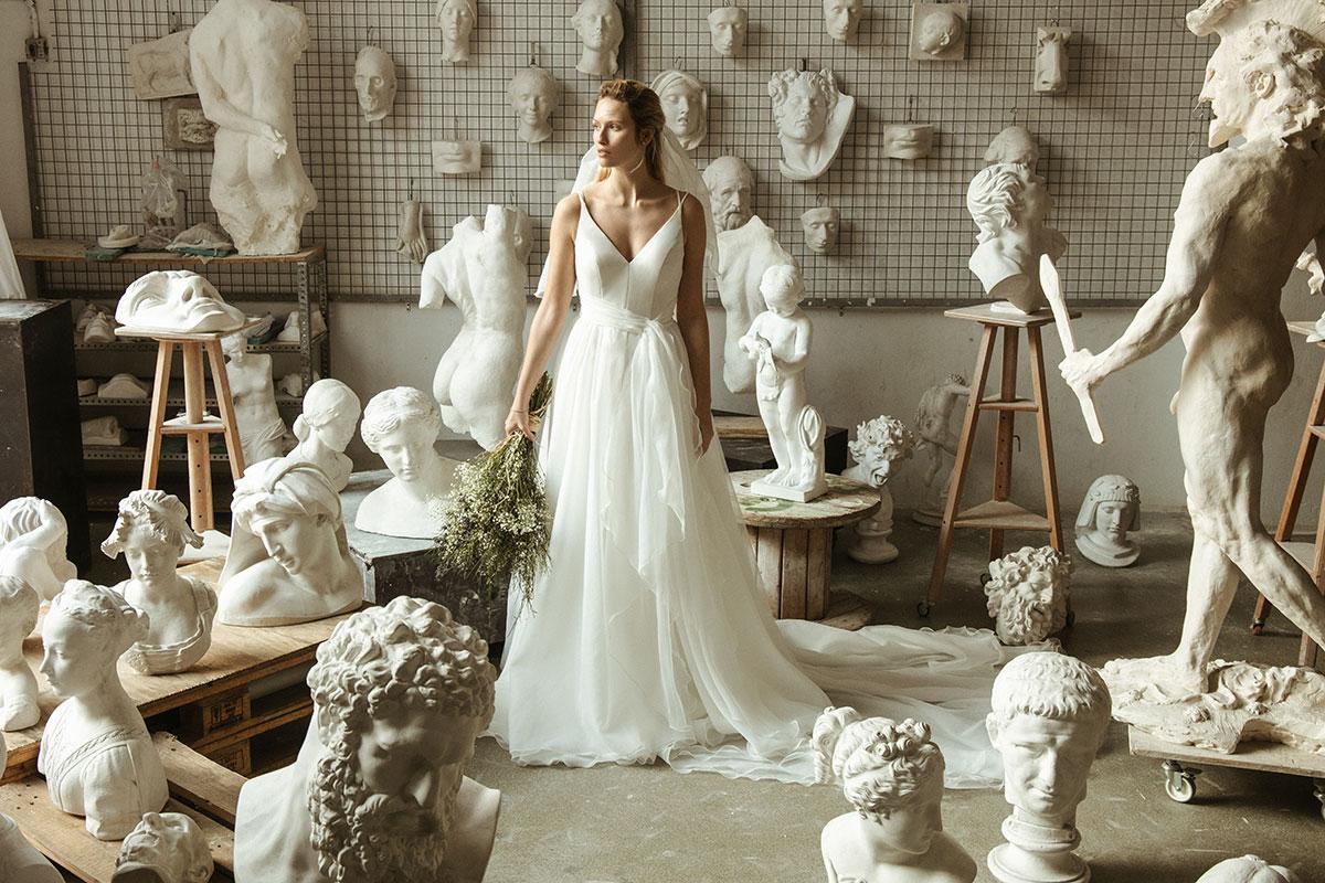 Vestido de novia. Galatea nueva colección 2020 de Ze Garcia